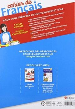 Livres Couvertures de Cahier de français 3e