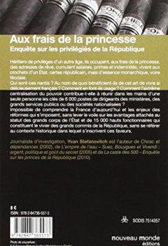 Livres Couvertures de Aux frais de la princesse : Enquête sur les privilégiés de la République