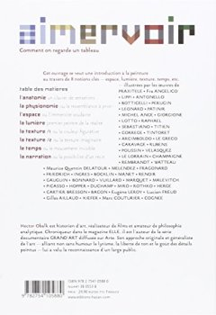 Livres Couvertures de Aimer voir : Comment on regarde un tableau