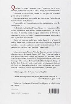 Livres Couvertures de Le Cygne noir : Suivi de force et fragilité