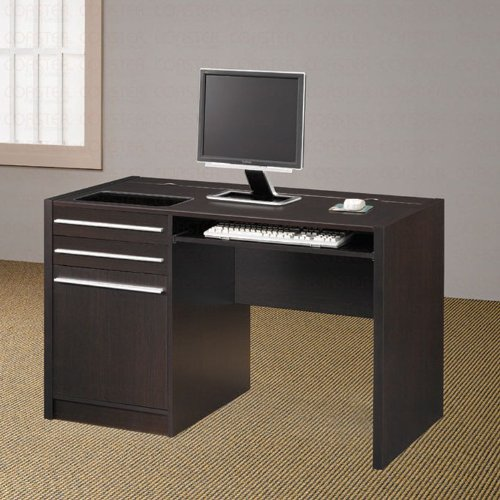 Picture of Comfortable Dark Brown Stylish Computer Desk (B003XRBVXC) (Computer Desks)