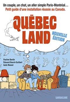 Livres Couvertures de Québec land : Nouvelle édition