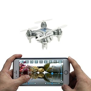 iKouer-Smallest-RC-Drone-Cheerson-CX-10W-24GHz-4CH-6-Axis-Gyro-Wifi-Romote-Control-Mini-Quadcopter-Helicopter-UFO-with-FPV-03MP-HD-Camera-Real-Time-Transmission-for-IOS-and-Android