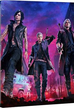 Livres Couvertures de Devil May Cry 5 - Deluxe Steelbook Edition