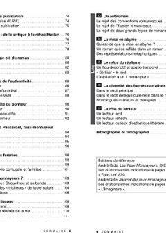 Livres Couvertures de Profil - Gide : Les Faux-monnayeurs, Le Journal des faux-monnayeurs: analyse des deux oeuvres (programme de littérature Tle L bac 2017-2018)