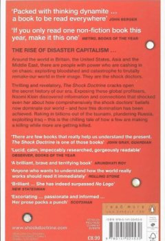 Livres Couvertures de The Shock Doctrine: The Rise of Disaster Capitalism