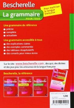 Livres Couvertures de Bescherelle La grammaire pour tous: Ouvrage de référence sur la grammaire française