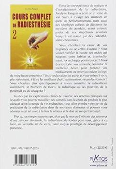 Livres Couvertures de Cours complet de radiesthésie n°2 : Perfectionnement et nouveaux domaines