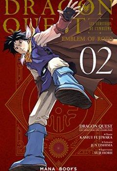 Livres Couvertures de Dragon Quest - Les Héritiers de l'Emblème T02