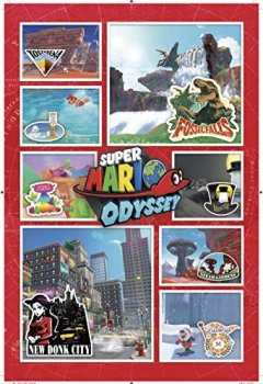 Livres Couvertures de Super Mario Odyssey Kingdom Adventures Box Set