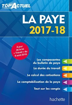 Livres Couvertures de Top'Actuel La Paye 2017/2018