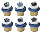 Marvel Avengers Assemble Warriors Cupcake Rings - 24 pcs