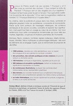 Livres Couvertures de Dictionnaire des symboles, mythes et croyances