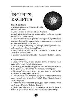 Livres Couvertures de L'Encyclopédie du savoir relatif et absolu: Livres I à XI et suppléments