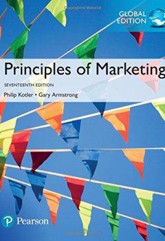Livres Couvertures de Principles of Marketing, Global Edition