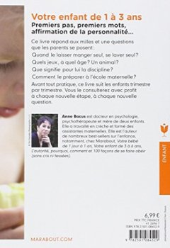 Livres Couvertures de Votre enfant de 1 à 3 ans: Trimestre par trimestre, les deux années les plus importantes de sa vie