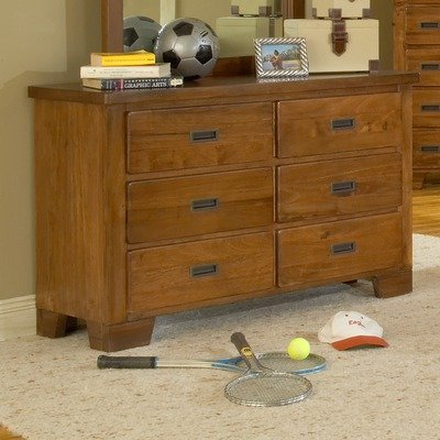 Image of Heartland Kids Double 6-Drawer Dresser (1800-260 / 1800-030)