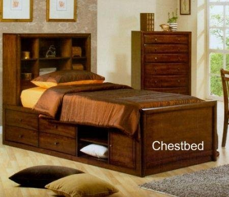 Image of Sumner Kids Chestbed Bedroom Set - Coaster 400280T (B005LWQ59M)