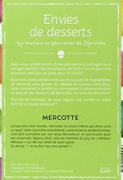 Livres Couvertures de Envies de desserts : Les meilleures pâtisseries de Mercotte