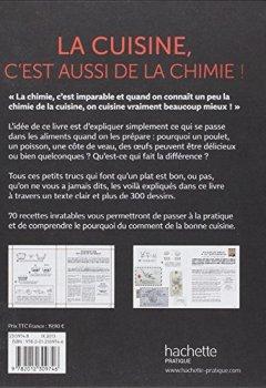 Livres Couvertures de La cuisine c'est aussi de la chimie: 70 recettes décryptées et tous les secrets pour les réussir à coup sûr