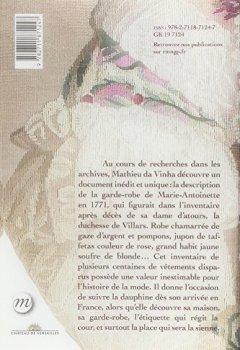 Livres Couvertures de Dans la garde-robe de Marie-Antoinette