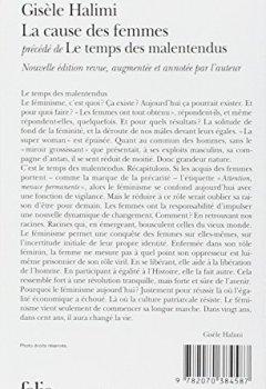Livres Couvertures de La Cause des femmes / Le Temps des malentendus