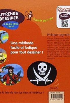 Livres Couvertures de J'apprends a dessiner les pirates