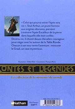Livres Couvertures de Contes et légendes : Les chevaliers de la Table Ronde