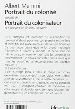 Livres Couvertures de Portrait du colonisé, précédé de : Portrait du colonisateur