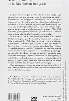 Livres Couvertures de Nouvelle histoire de la Révolution française