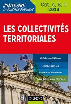 Livres Couvertures de Les collectivités territoriales 2018 - 8e éd. - Cat. A, B, C -
