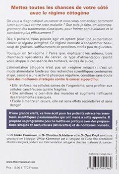Livres Couvertures de Le Régime cétogène contre le cancer