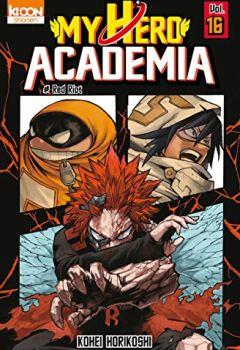 Livres Couvertures de My Hero Academia T16 (16)