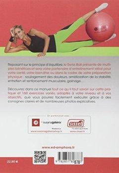 Livres Couvertures de Entrainement avec Swiss Ball : Santé, forme, préparation physique