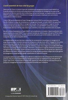Livres Couvertures de Guide Du Corpus Des Connaissances En Management De Projet Guide Pmbok