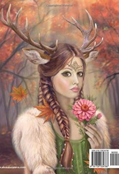 Livres Couvertures de Coloring book Ladies of Nature. Grayscale: Coloring Book for Adults