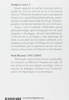 Livres Couvertures de Temps et récit, tome 3
