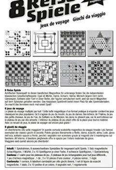 Livres Couvertures de Schmidt - 49102 - Malette de Jeu - 8 Jeux de Voyage