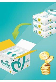 Livres Couvertures de Pampers - New Baby Premium Protection - Couches Taille 3 (5-9 kg/Midi) - Pack Economique 1 Mois de Consommation (x204 couches)