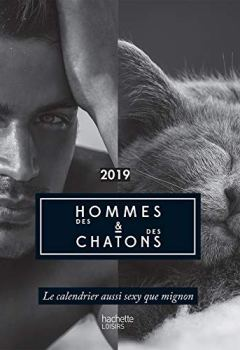Livres Couvertures de Calendrier des Hommes et des chatons 2019