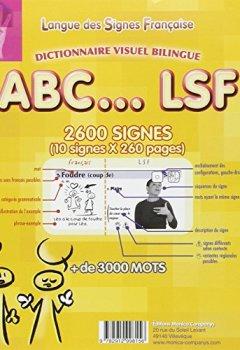 Livres Couvertures de ABC...LSF : Dictionnaire visuel bilingue