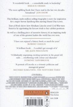 Buchdeckel von Team of Rivals: Lincoln Film Tie-in Edition