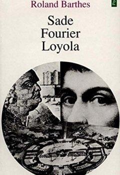 Livres Couvertures de Sade, Fourier, Loyola
