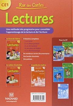 Livres Couvertures de Lectures CE1