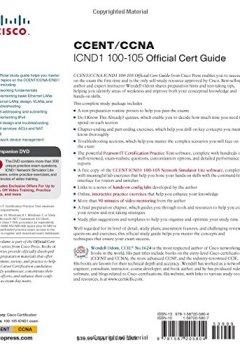 Livres Couvertures de CCENT/CCNA ICND1 100-105 Official Cert Guide
