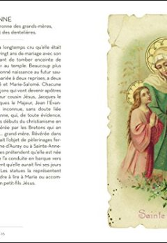 Le Petit Livre des Saints de Christine Barrely