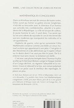 Livres Couvertures de Mathématiques congolaises