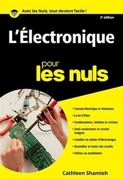 Livres Couvertures de L'Electronique Poche Pour les Nuls