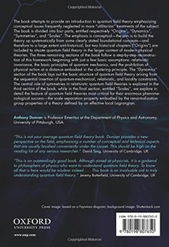 Livres Couvertures de The Conceptual Framework of Quantum Field Theory