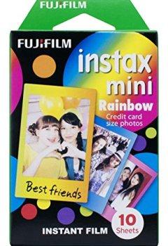 Livres Couvertures de Fujifilm Instax Mini Rainbow Film 10 poses
